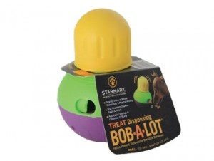 Dog Puzzle Toys -StarMark Bob-A-Lot Interactive Dog Toy