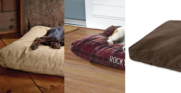 Toughchew Dog Bed by Orvis Colors