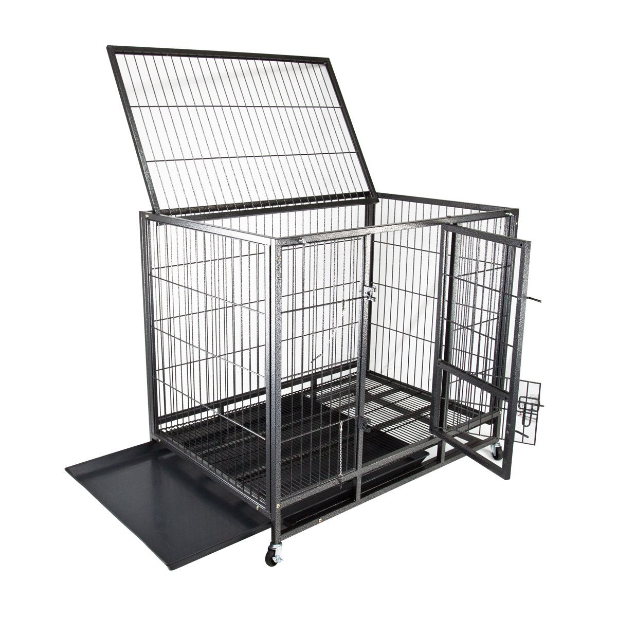 Heavy-Duty Dog Crate by My1stPet