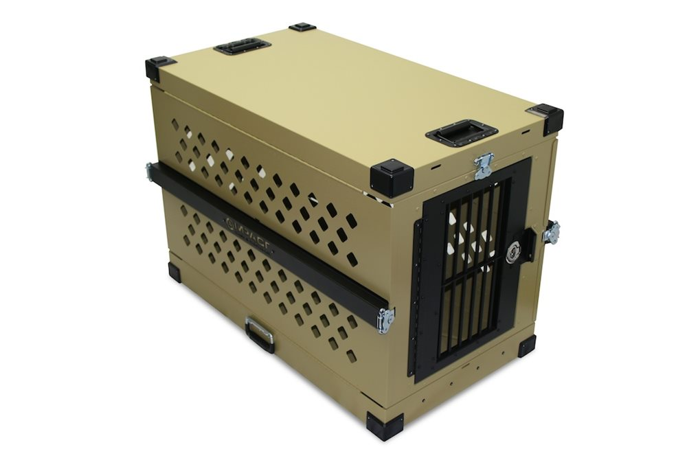 Collapsible, Durable Aluminum Dog Crate